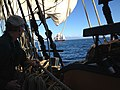 Star of India from the deck of the replica ship Surprise.jpg