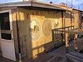 Starr-081230-0120-Tamarix aphylla-habitat and building with Sea Bees painting-Base camp Honokanaia-Kahoolawe (24926919265).jpg