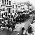 StateLibQld 1 91220 Mounted Infantry of the Expeditionary Force in Queen Street, Brisbane, 1914.jpg