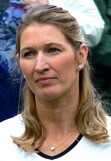 Steffi Graf German tennis player