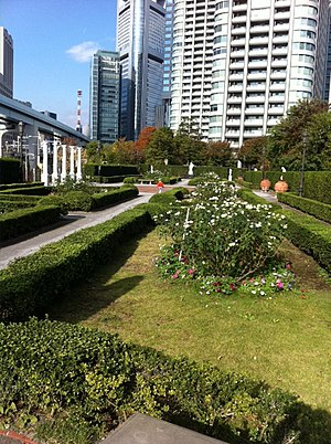 Acty Shiodome - Image: Step Garden on North side of Acty shiodome