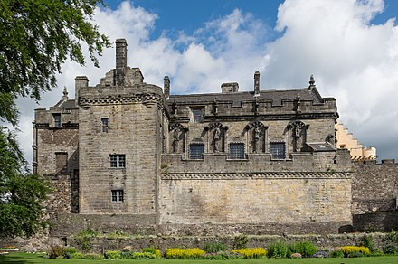 The Royal Palace viewed from Queen Anne Garden Stirling Castle Royal Palace.jpg