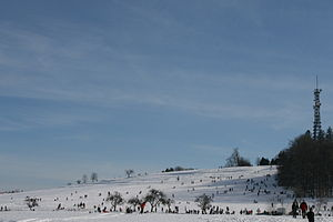 Wintersport am Stocksberg