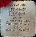 Stolperstein Augsburg Hausmann Leonhard.jpg