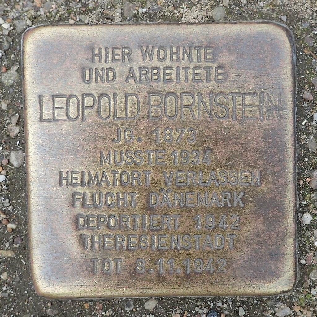 Stolperstein für Leopold Bornstein