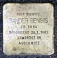 Stolperstein Berliner Str 26 (Panko) Sander Bengis.jpg