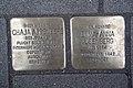 Stolperstein Duisburg 500 Hochfeld Wanheimer Straße 74 2 Stolpersteine.jpg