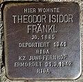 Stolperstein Göppingen, Theodor Isidor Fränkl.jpg