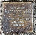 Stolperstein Joachim-Friedrich-Str 20 (Halsee) Margarete Hille.jpg
