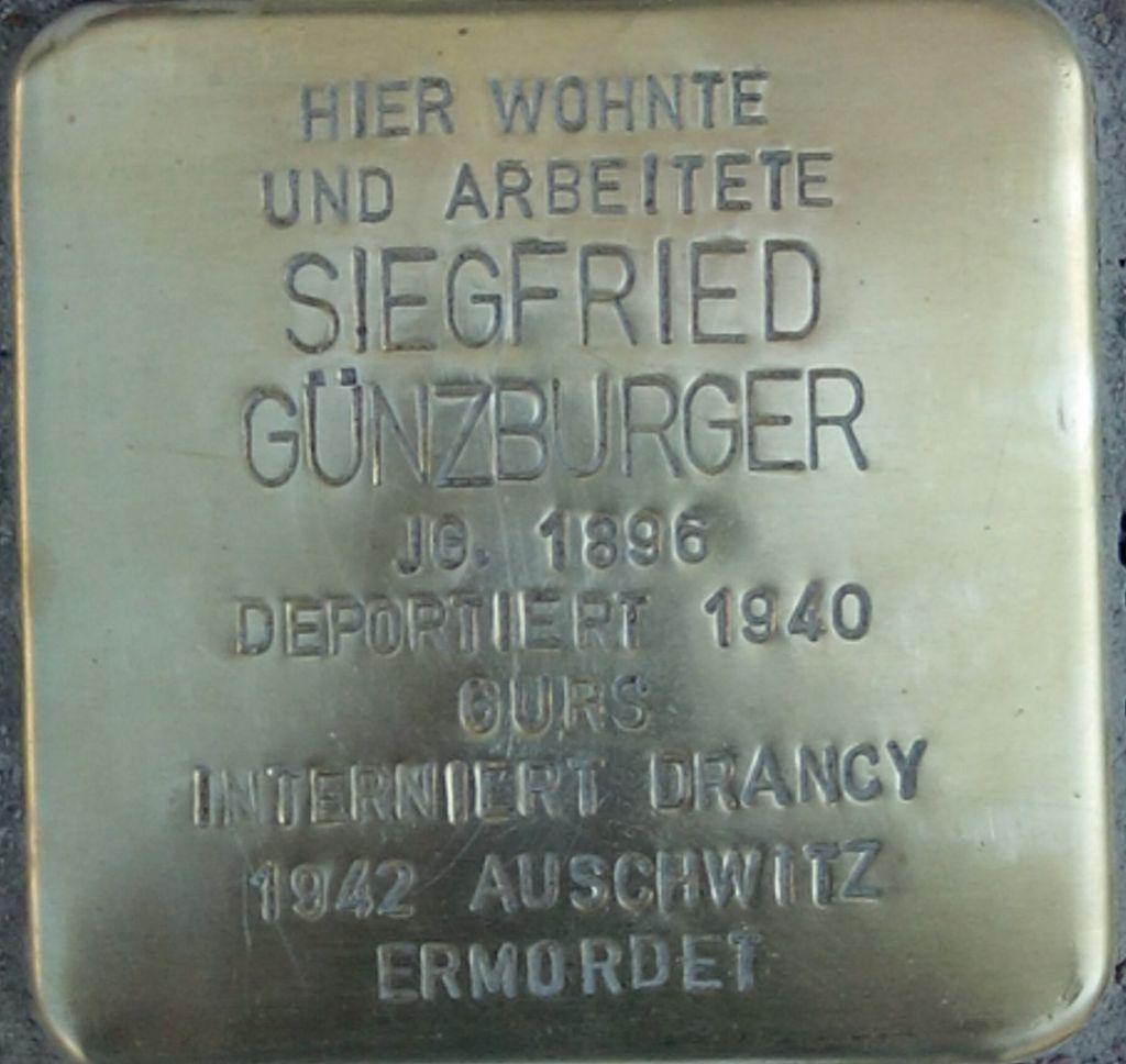 Stolperstein Siegfried Günzburger - NK Bahnhof25.jpg
