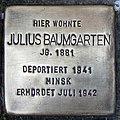 Stolperstein Verden - Julius Baumgarten (1881).jpg