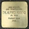 Stolperstein für Dr. Alfred Roseno (Köln).jpg