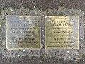 Stolpersteine Herch Léa Rubinstein 31 rue Cuvier Fontenay Bois 2.jpg