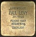 Stolpersteine Krefeld, Paul Levy (Neusser Straße 38).jpg