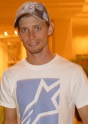 Casey Stoner after MotoGP testing in Malaysia 2011