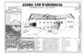Store and Warehouse, Title Sheet - Kennecott Copper Corporation, Company Store and Warehouse, On Copper River and Northwestern Railroad, Kennicott, Valdez-Cordova Census HAER AK-1-H (sheet 1 of 14).png