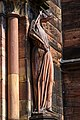 Strasbourg - South Transept Cathedral - ca. 1230 AD - Allegory of Synagogue.jpg