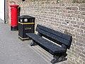 Street furniture, Warminster - geograph.org.uk - 1282544.jpg