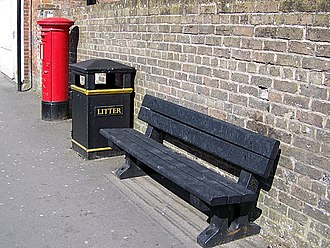 Street furniture - Street furniture in Warminster, England