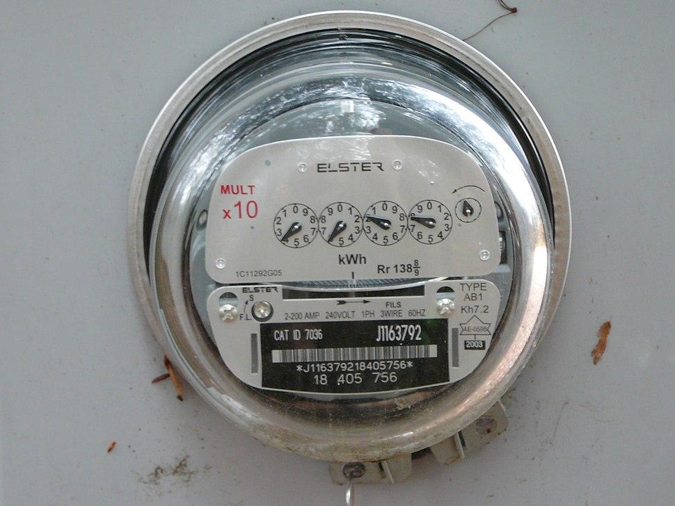 Stromzähler in Kanada