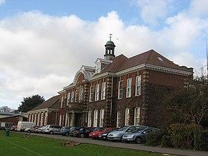 Stroud High School -  Stroud High School main building