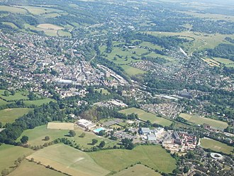 Stroud - Image: Stroud from the air