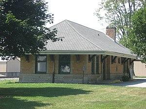 Stryker, Ohio - Stryker's former rail depot