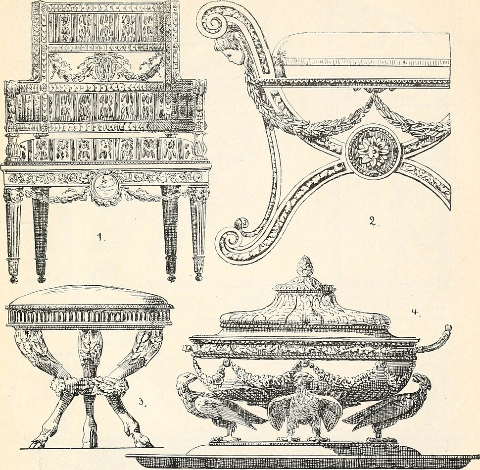 Styles of ornament, exhibited in designs, and arranged in historical order, with descriptive text. A handbook for architects, designers, painters, sculptors, wood-carvers, chasers, modellers, (14765802365)