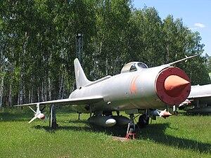 Sukhoi Su-11 - Image: Su 11 VVS museum