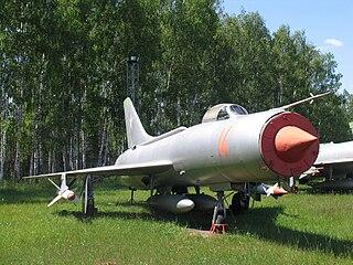Sukhoi Su-11 Interceptor aircraft