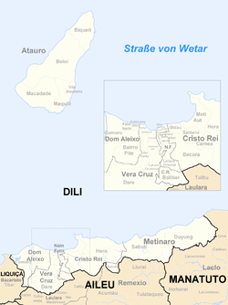 Subdistricts of Dili
