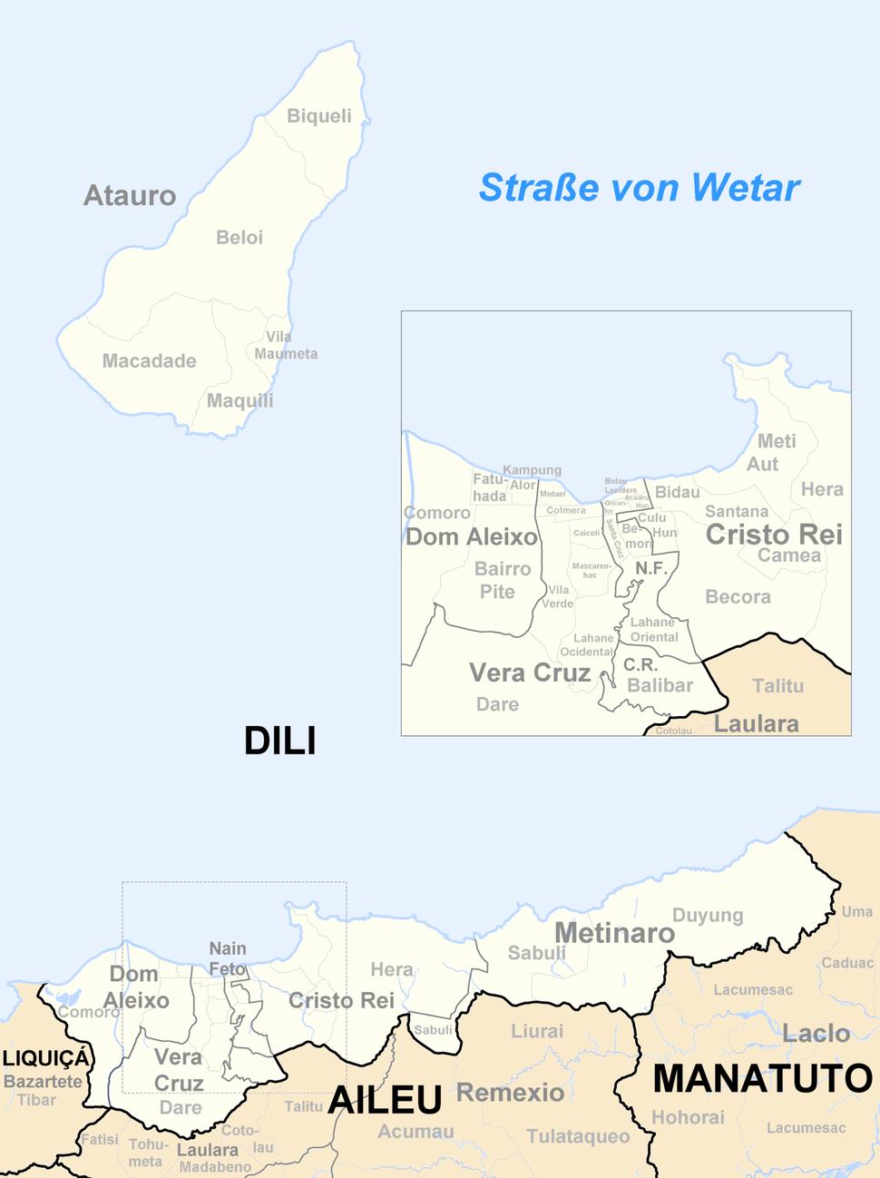 Sucos Dili