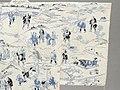 Summer Kimono (Yukata) with Illustrations from the 1802 novel 'Hizakurige' (Shank's Mare) by Ikku Jipensha (1765-1831) LACMA M.2006.37.6 (3 of 9).jpg