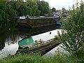 Sunken Barge, River Calder - geograph.org.uk - 284389.jpg