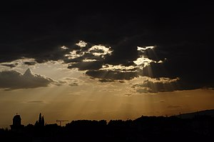 Choristi - Image: Sunsetin Choristi