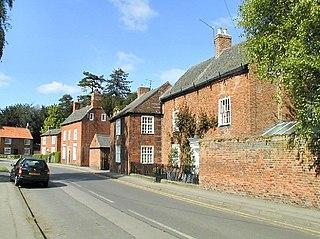 Sutton Bonington Village in Nottinghamshire, England