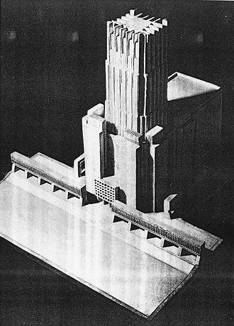 Temple of Divine Providence - Bohdan Pniewski's proposal, 1939