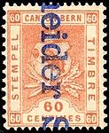 Switzerland Bern 1897 revenue 60c - 55 II-97.jpg