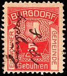 Switzerland Burgdorf 1917 revenue 5c - 1A.jpg