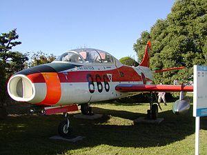 Fuji T-1 - Fuji T-1 displayed at Komaki Air Base