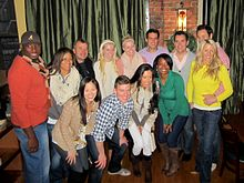 The amazing race dating models in new york