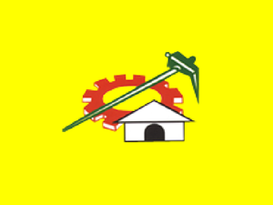 Flag of Telugu Desam Party of India.
