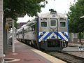 TRE RDC at Dallas Union Station, September 2009.jpg