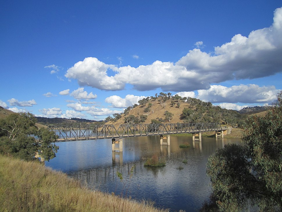 Taemas Bridge, NSW, from north
