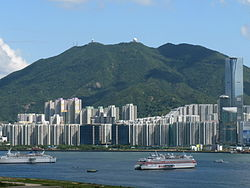 Mount Parker from Kowloon