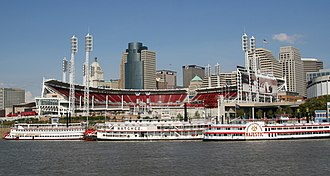 Tall Stacks - The Belle of Louisville, Natchez, and Majestic preparing for 2006 Tall Stacks
