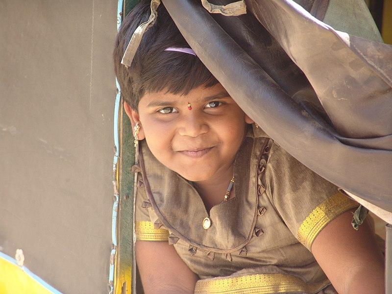 File:Tamil girl in pavadai.jpg