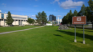 Tampere University of Technology - The campus.