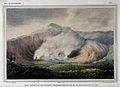Tangkubanparahu volcano, Java; the Ratu fumarole and crater. Wellcome V0025222.jpg