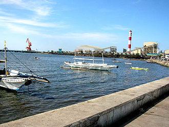 Toledo, Cebu - Image: Tanon Strait From Toledo City Boulevard